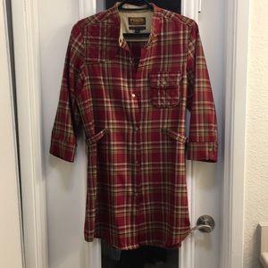 Pendleton dress/shirt/jacket
